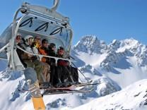 Kaiserwetter in den Alpen