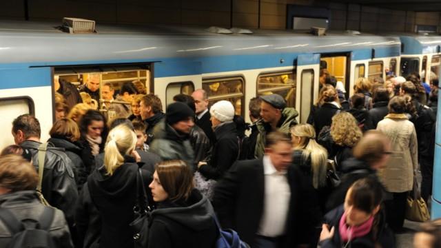 U-Bahn in München, 2010