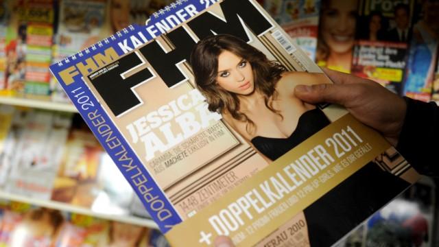 Medien: Egmont stellt Maennermagazin FHM ein