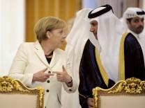 Merkel bereist die Golfregion