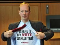 """Martin Sonneborn ist Vorsitzender der """"Partei"""""""