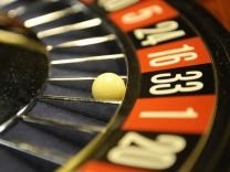 Roulette in der Spielbank in Stuttgart