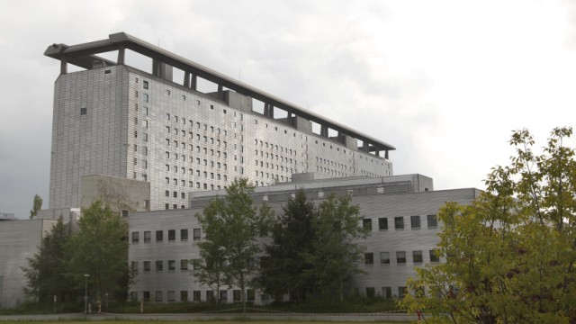 A general view shows hospital 'Klinikum Grosshadern' where U2 lead singer Bono is believed to be receiving treatment in Munich