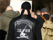 Neonazi-Demonstration + Gegendemonstration am Isarplatz