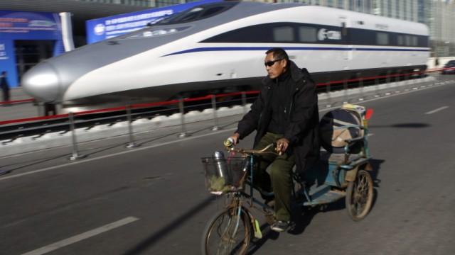 China plant angeblich eine spektakuläre Bahnlinie bis in die USA.