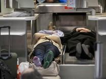 Flughafen von Frankfurt/Main für vier Studen gesperrt