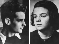 Hans Scholl und seine Schwester Sophie Scholl