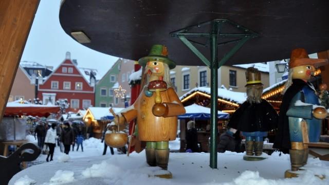 Weihnachtsmarkt Oberammergau.Christkindlmarkt Erding Optisch Aufpoliert Erding Süddeutsche De