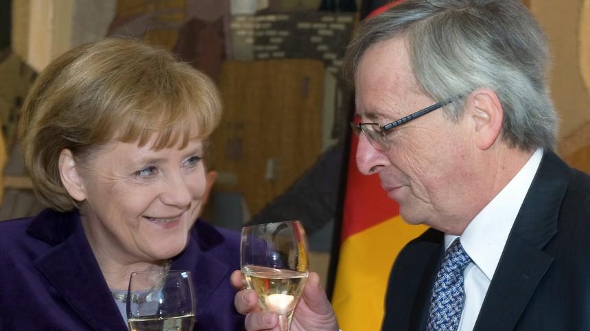 Bundeskanzlerin Merkel in Luxemburg