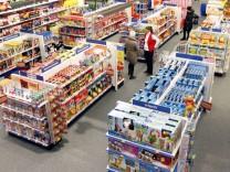 Eroeffnung der groessten 'Toys'R'Us'-Filiale in Europa