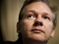 File photo of WikiLeaks founder Assange holding news conference at the Geneva Press Club in Geneva