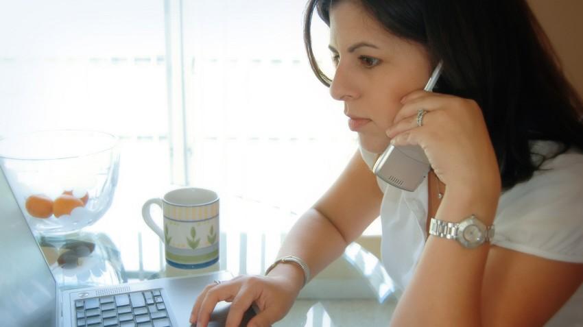 Multitasking Büro