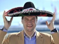 Bayerischer Umweltminister Soeder besucht Cancun