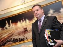Baden-Wuerttembergs Ministerpraesident Mappus besucht Saudi-Arabien