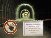 Deckeneinsturz im Atommuelllager Asse