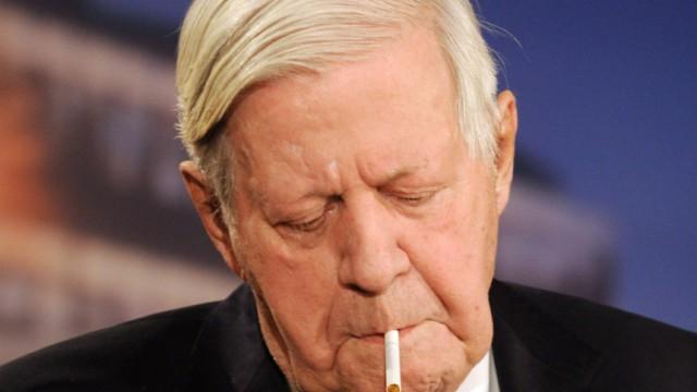 Helmut Schmidt bei 'Maischberger'