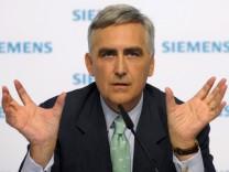 Peter Löscher, Siemens