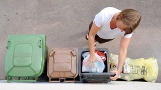 Mülltrennung in privaten Haushalten