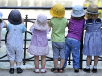 Kinder am Eisbach
