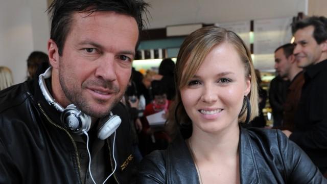 Lothar Matthäus und Tochter Alisa, 2010