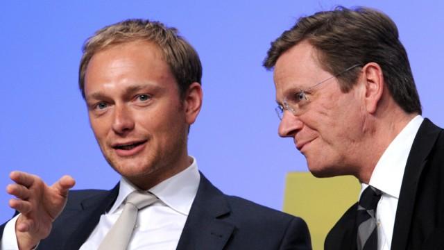 Lindner FDP-Chef Westerwelle