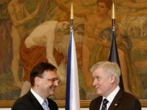 Premier of Germany?s Bavaria state visits Prague