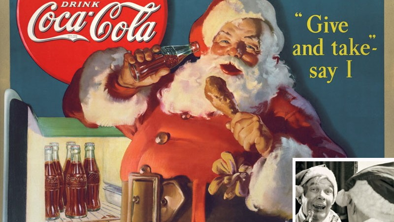 Mantel vom weihnachtsmann ursprunglich