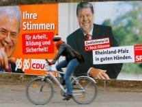 Wahlkampf in Rheinland-Pfalz