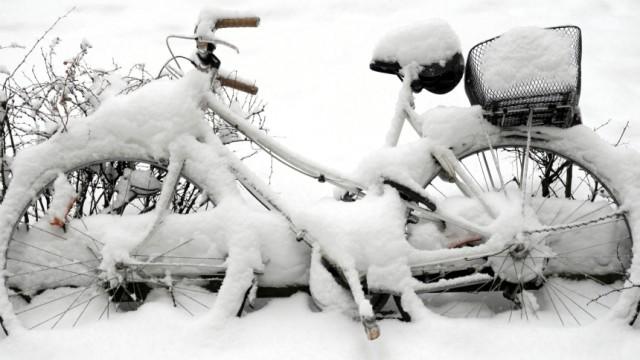 Schnee in Hamburg