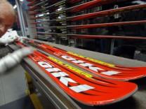 Skihersteller Völkl - Produktion