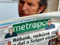 OSZE kritisiert Mediengesetz in Ungarn: Gefährdet Pressefreiheit