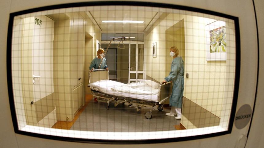Schweinegrippe - Vorbereitungen auf der Isolierstation