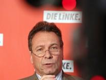 Pressekonferenz Die Linke - Ernst