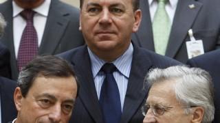 Jean-Claude Trichet, Axel Weber, Mario Draghi