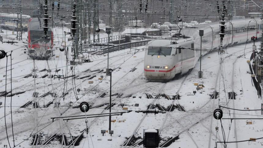 Deutsche Bahn im Kampf gegen den Winter