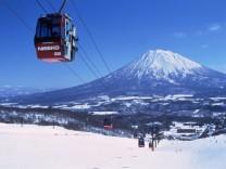 The Niseko ski resort town of Hirahu in Hokkaido prefecture is seen in this undated handout photo