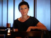 Sitzt für die Linkspartei im Bundestag: Sahra Wagenknecht