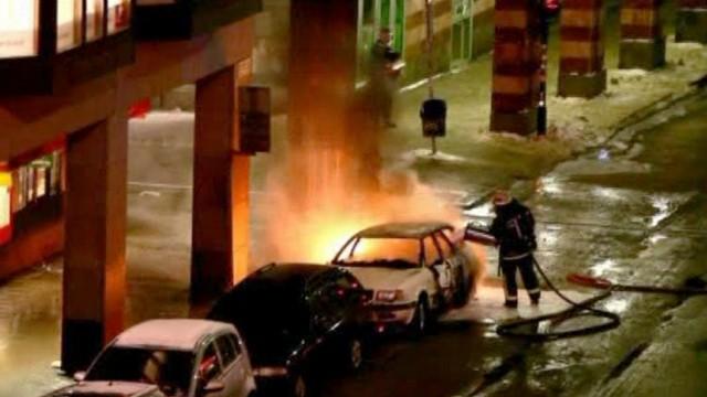 CAR EXPLOSION STOCKHOLM