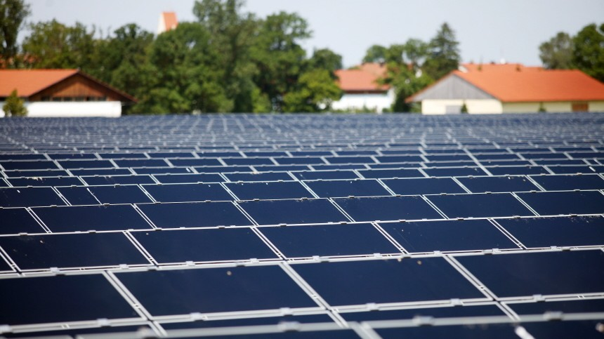 Malching: Solarpark