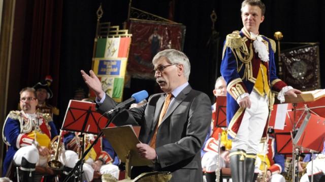 Thilo Sarrazin hält Laudatio bei Fastnachtsauftritt