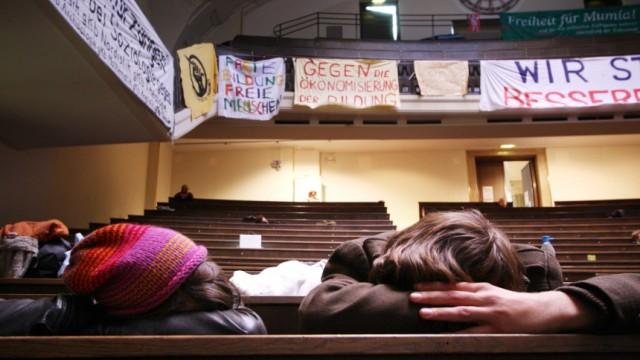 Studentenstreik an der Münchner LMU, 2009