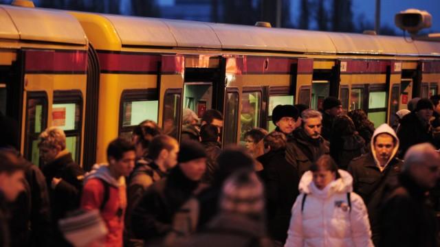 Eingeschränkter S-Bahn-Verkehr in Berlin