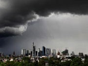 Skyline Frankfurt am Main, Wolke, ddp