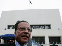 File photo of Salman Taseer, Pakistan's Governor of Punjab province, speaking to media in Islamabad