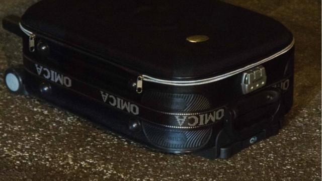 Säugling in Koffer entdeckt