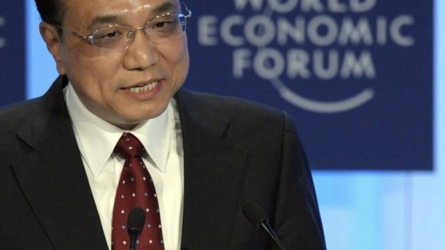 40. Weltwirtschaftsforum in Davos - Li Keqiang