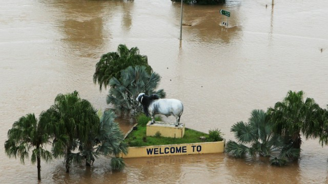 Queensland Suffers Worst Floods In Fifty Years