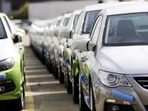 Deutscher Automarkt im Plus