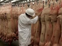 Suedkorea verkauft keine deutschen Schweine- und Gefluegelprodukte
