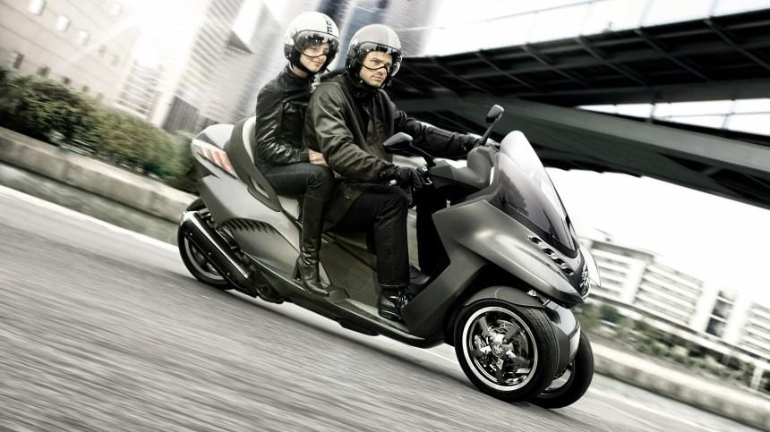 dreirädrige motorroller - autoführerschein reicht - auto & mobil